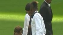 """""""Alvaro, hai una macchia sulla cravatta"""" e Morata ci casca"""