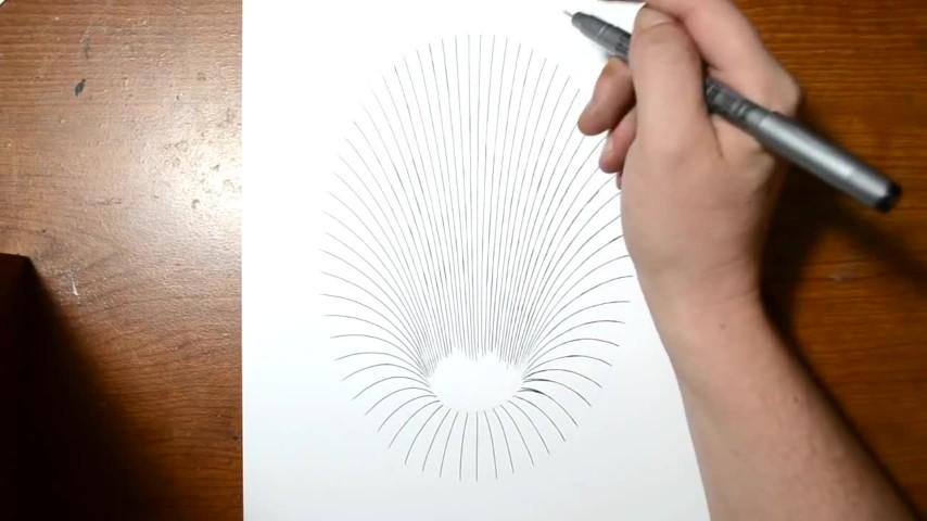 Crea Una Fantastica Illusione Ottica Solo Con Un Foglio Di Carta E
