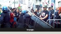 Salvini contestato in Sicilia: uova, tensioni e cori