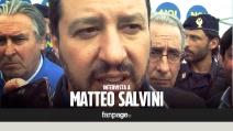 """Matteo Salvini contestato: """"Mi pento di aver lanciato anche io le uova"""""""