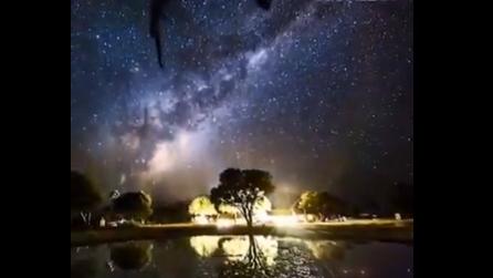 Il cielo stellato come non l'avete mai visto: suggestive immagini dallo Zimbabwe