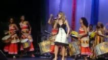 Guenda Goria canta con la banda Didá