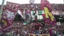 """Il coro dei tifosi della Salernitana sulle note di """"Bella Ciao"""""""