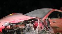 Spaventoso incidente di Arturo Vidal con la sua Ferrari