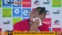 """""""Mi vergogno tantissimo, mi scuso con tutto il Cile"""", Arturo Vidal scoppia in lacrime"""