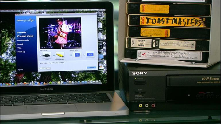 programma videocassetta computer