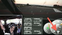 Da 0 a 300 km/h in 18 secondi: l'incredibile record della Koenigsegg One:1