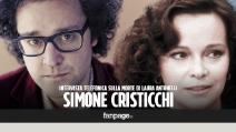 """Simone Cristicchi: """"Ho vissuto gli ultimi mesi di Laura Antonelli, la sua era una morte annunciata"""""""
