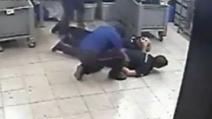 Rapina al Tarì, le immagini delle telecamere di sicurezza