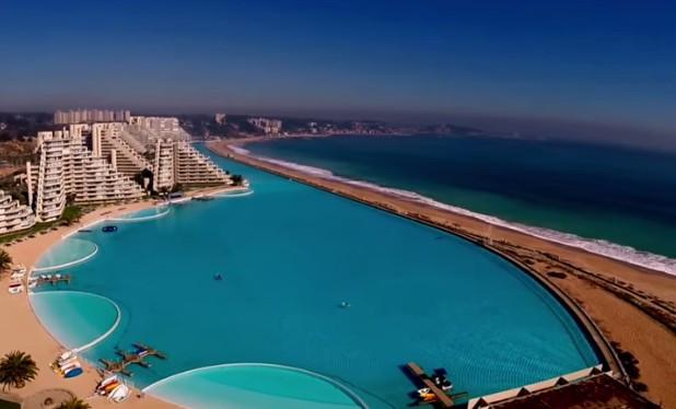 5 anni per costruirla lunga pi di un km ecco la piscina