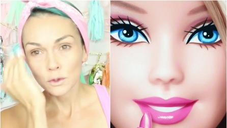 La Barbie umana diventa nera l'incredibile trasformazione