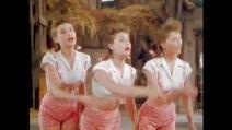 Le tre sorelle che stupirono il mondo negli anni '40