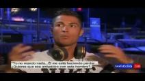 Infastidito dalle domande, Cristiano Ronaldo lascia l'intervista