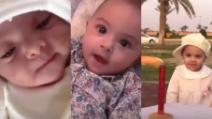 Documenta la crescita della figlia nel suo primo anno di vita: la trasformazione in pochi minuti
