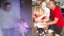 Ritrovata la piccola Rebecca, rapita dal suo letto: il momento toccante in cui riabbraccia i genitori