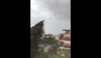 Napoli, tromba d'aria a Caivano: venti fortissimi e urla di terrore