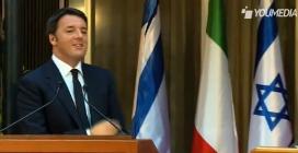 """Renzi e il """"Devid"""" di """"Maichelangelo"""": la pronuncia nella conferenza stampa"""