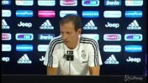 """Juventus, Allegri: """"L'obiettivo è vincere tutto"""""""