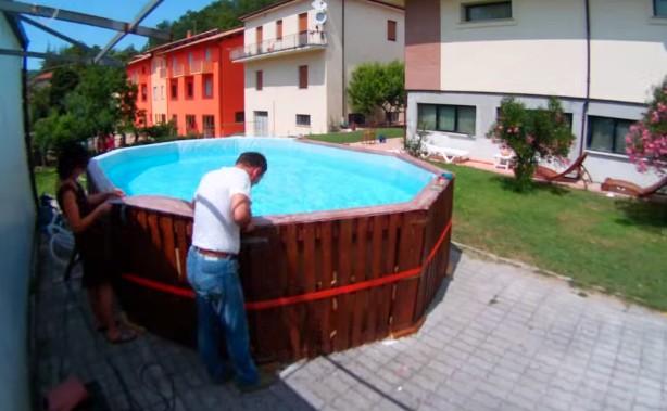 Costruire una piscina in giardino la definizione del progetto