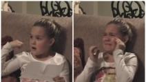 Riceve il regalo che ha sempre desiderato: la bimba scoppia in lacrime per l'emozione