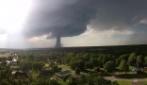 Lo spettacolare tornado nel Kansas: le immagini spettacolari dal drone