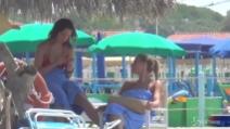 Aurora Ramazzotti e Michelle Hunziker al mare a Forte dei Marmi