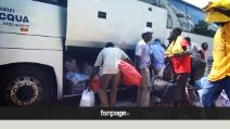 """Treviso, i migranti lasciano Quinto: """"Gli hanno impedito anche di mangiare"""""""