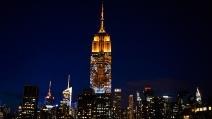 L'Empire State Building si trasforma in un maxi schermo: le spettacolari immagini