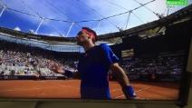 """Fognini vs Nadal: """"Non rompere i c..."""" e perde la finale"""