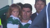 David Pizarro torna a casa: la presentazione con il Santiago Wanderers