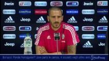 """Juventus, Bonucci su Nainggolan: """"Parla il campo, 4 scudetti in 4 anni"""""""