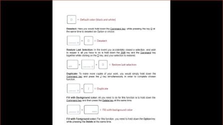 Photoshop Keyboard Shortcuts for Mac & Windows