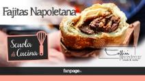 Fajitas Napoletana, la ricetta succulenta con carne, peperoni e provola al barbecue