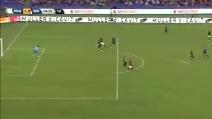 Destro terrificante di Dzeko: ecco il primo gol con la maglia della Roma