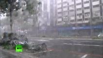 Taiwan, il tifone più potente del 2015 spazza via tutto