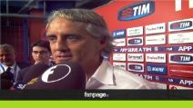 """Mancini: """"Non sono preoccupato. Il mercato? Aspetto rinforzi e cessioni"""""""