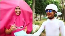 Lei vestita da ovulo, lui da spermatozoo: un video originale per un annuncio emozionante