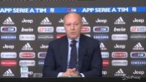 """Marotta fa il bilancio sul mercato della Juve: """"Obiettivi centrati"""""""