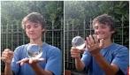 """La sfera """"magica"""": quello che riesce a fare è sorprendente"""