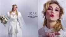 Ecco come sono cambiati gli abiti da sposa negli ultimi cento anni