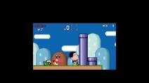 Suarez morde tutti nella parodia di Super Mario Bros