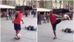 Un vero mago del pallone: quello che riesce a fare è incredibile