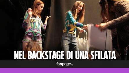 I segreti del backstage: cosa succede durante una sfilata