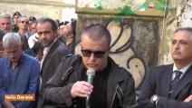 Inaugurata la strada intitolata a Pino Daniele a Napoli