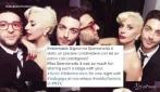 Il Volo incontra Lady Gaga: selfie alla cena di gala a New York