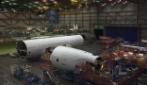 La costruzione di un Boeing in 200 secondi: le stupende immagini in timelapse