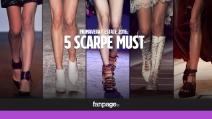 Scarpe Must: 5 modelli per la Primavera/Estate 2016