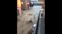 Allarme maltempo a Benevento: situazione drammatica a Castel Pagano