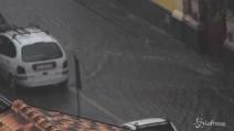 Violento nubifragio a Catania: allagamenti in città, voli dirottati in altri scali