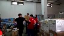 Benevento, arrivano gli aiuti alimentari per le popolazioni colpite dall'alluvione